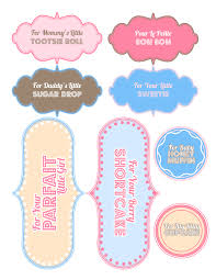 Free Baby Shower Labels In Printable PDF  Worldlabel BlogBaby Shower Tag