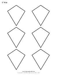 Free Printable Kite Template Free Kite Template Lccorp Co