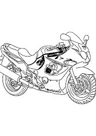 Coloriage Motocross Casque Dessincoloriage