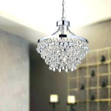 clarissa crystal drop round chandelier charming small