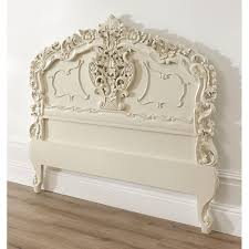 Shabby Chic Headboard Ivory Rococo Antique French Headboard Available Now