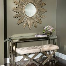 distressed mirrored furniture. mirrored console table distressed furniture