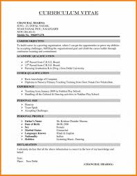 Great Resume Format Inspiration Great Resume Templates For Teachers In India For Indian Normal