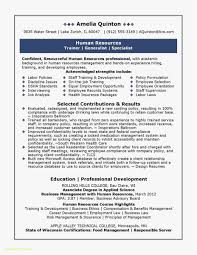 Entry Level Human Resources Resume Examples Top Result Entry Level