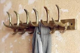Antique Brass Coat Rack 100 Rustic Antler Coat Racks and Key Hooks Real Country Ladies 50