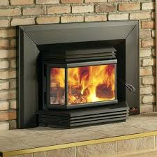 fireplace insert wood burning high efficiency bay window insert with blower fireplace inserts wood burning canada