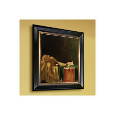 the of marat 1793 by jacques louis david framed print