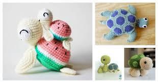 Free Crochet Turtle Pattern Fascinating Crochet Turtle Amigurumi Free Patterns