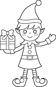 Christmas Elves Coloring Pages To Print Profitclinicinfo