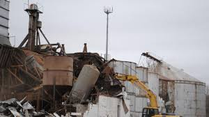 Demolition of Rhodes granary marks end of agricultural era in Norman |  Local News | normantranscript.com