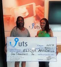 press release: Winner $1000 SMS | UTS N.V. | St. Maarten