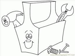 Small Picture Construction tools coloring pages construction coloring page free
