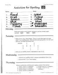Write Each Spelling Word Forward Backward And Then Forward