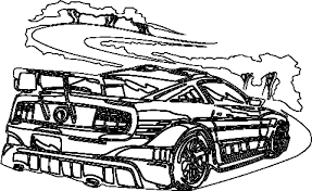 Small Picture Coloring Pages racing cars coloring page racing cars colouring sheet