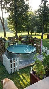 galvanized stock tank pool ideas woohome 2