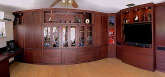 home office cabinetry design. Mahogany Office Fish Eye Home Office Cabinetry Design