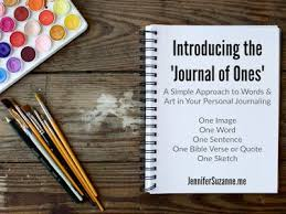 Personal Journaling Journal Of Ones A Simple Approach To Words Art In Your