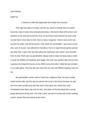 a scary halloween essay josh pelletier ewrt a scary halloween  6 pages a general offer essay