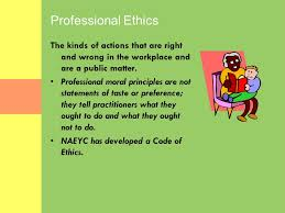 values morality ethics in early childhood education ppt 3 values