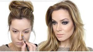 evening makeup tutorial beginners