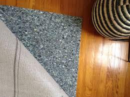 area rug padding
