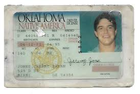 Rare State Extremely Jeremy Murderabilia 1994 Jones Premier License Oklahoma - Website Drivers The