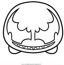 Disegno Tsum Tsum Venom Personaggio Cartone Animato Da Colorare