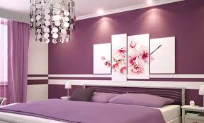Purple Bedroom Colors Painted Bedrooms Ideas Zampco