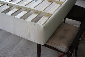 How to upholster a platform bed