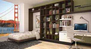 hideaway beds furniture. view in gallery murphy bed folded down with of golden gate bridge hideaway beds furniture