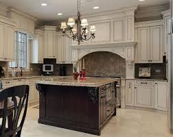 Kitchen Designers Niagara Region Classic Antique White Kitchen With Glazing Large Decorative