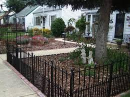 wrought iron fences front yard fence