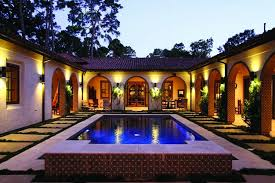 spanish style house plans with courtyard awesome spanish style house 4