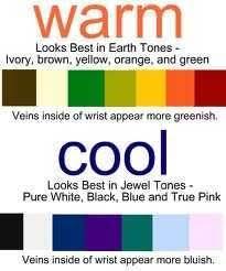 Skin Tone Clothing Chart Skin Tone Chart Good Info On Determining Your Skin Tone And