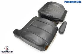 1999-2002 Chevy Silverado 1500 2500 3500 Ultra Leather Seat Covers ...