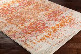 harput traditional burnt orange light gray area rug contemporary hall and stair runners by surya