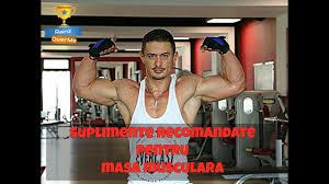 Cel mai bun supliment pentru masa musculara