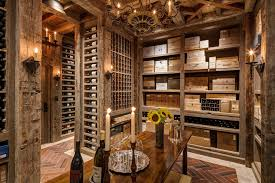 new york basement storage ideas wine cellar traditional with greenwich glasses chandelier