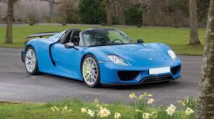 porsche 918 spyder blue. porsche 918 spyder blue p