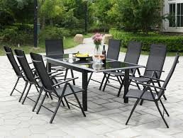 Table de jardin 12 personnes + 8 chaises en aluminium Ravenne ...