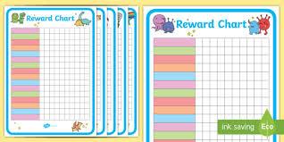 Editable Reward Chart Editable Reward Chart Pack Display Posters