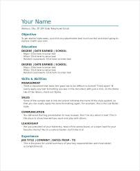 Document Template Word 8 Word Document Templates Free Premium Templates
