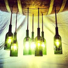 how to make a chandelier out of wine bottles wine bottle chandelier to make lamp at