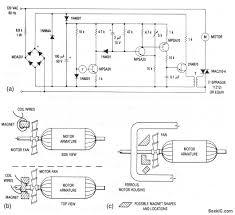 motor speed control tachometer feedback circuit diagram this circuit shows a triac motor speed control that derives feedback from a magnet coil tachometer that is placed near the motor fan figs