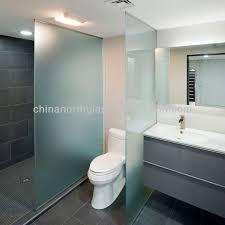 bathroom partition glass glass toilet