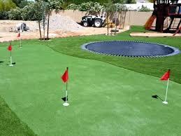 golf putting greens for backyard inspiring green making a in
