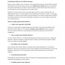 Best Objective Statements For Resumes Good Resume Objective Statements Staruaxyz 17
