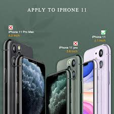 Buy 2+3 Pack] UniqueMe Compatible with iPhone 11 6.1 inch Camera Lens  Protector and Screen Protector Tempered Glass HD Clarity Bubble Free [Easy  Installation] Online in USA. B088JZWWLK