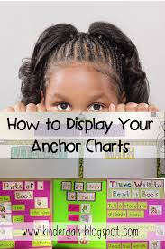 Anchor Chart Display Ideas Kindergals Anchor Charts How Do You Display Them