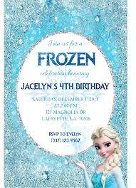Frozen Birthday Invitations Frozen Birthday Invitation Snowflake Laser Cut Createve